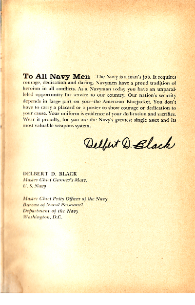 THE BLUEJACKETS' MANUAL USA NAVAL INSTITUE 16TH EDITION